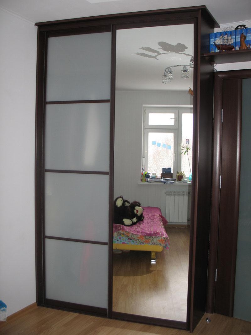 Шкаф-купе 1 на заказ в екатеринбурге - мебель-кухни96.рф.