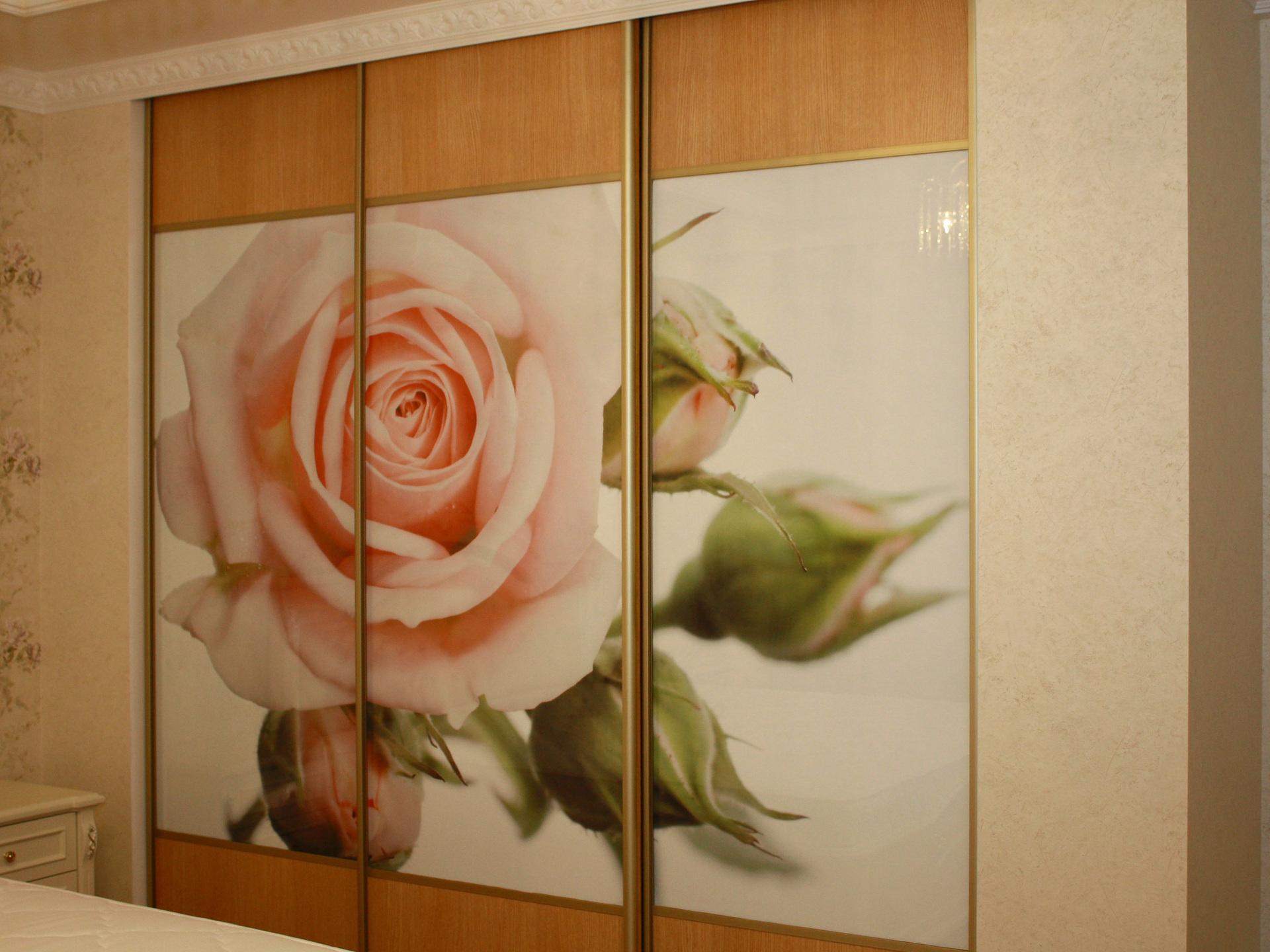 Шкаф-купе Цветы - корпусные Галерея по мебели на заказ и 11